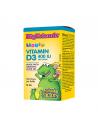 Витамин D3 Big Friends за деца 400 IU, 500 дози (течен) Natural Factors - 1
