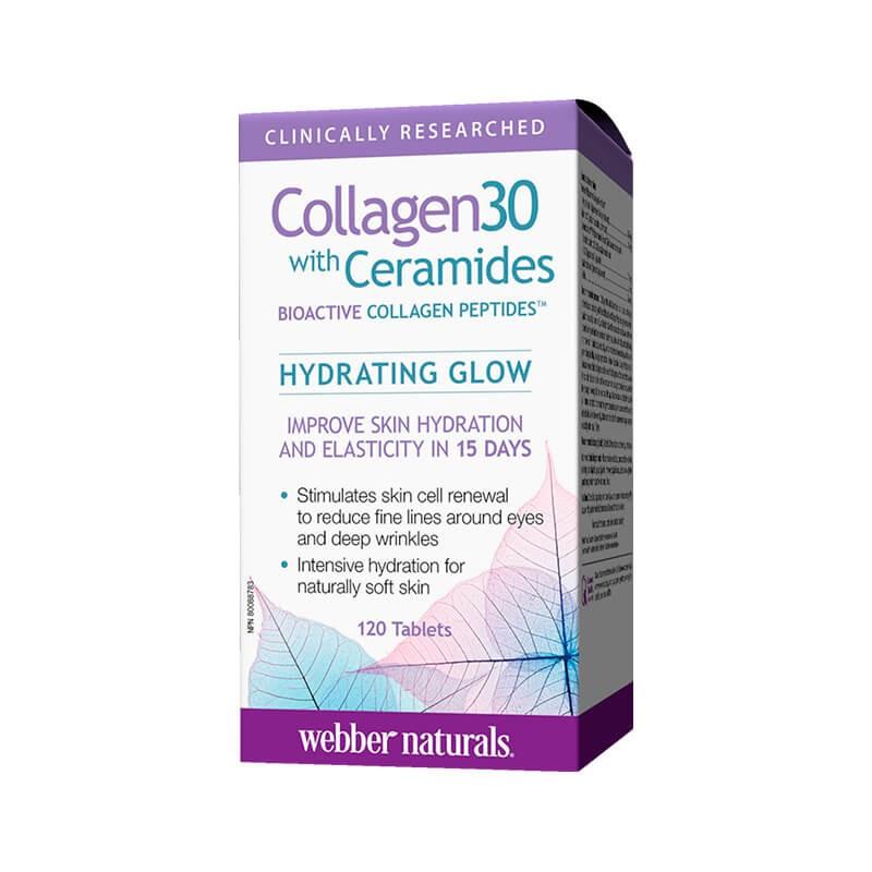 Колаген 30 + серамиди х 120 таблетки Webber - 1