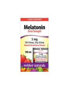 Мелатонин Extra Strength 5 mg (капки) x 100 ml Webber - 1