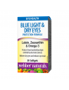 Blue Light & Dry Eyes Protection Formula (с лутеин, зеаксантин и омега 3) х 30 софтгел капсули Webber - 1