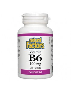 Витамин В6 100 mg Natural Factors - 1