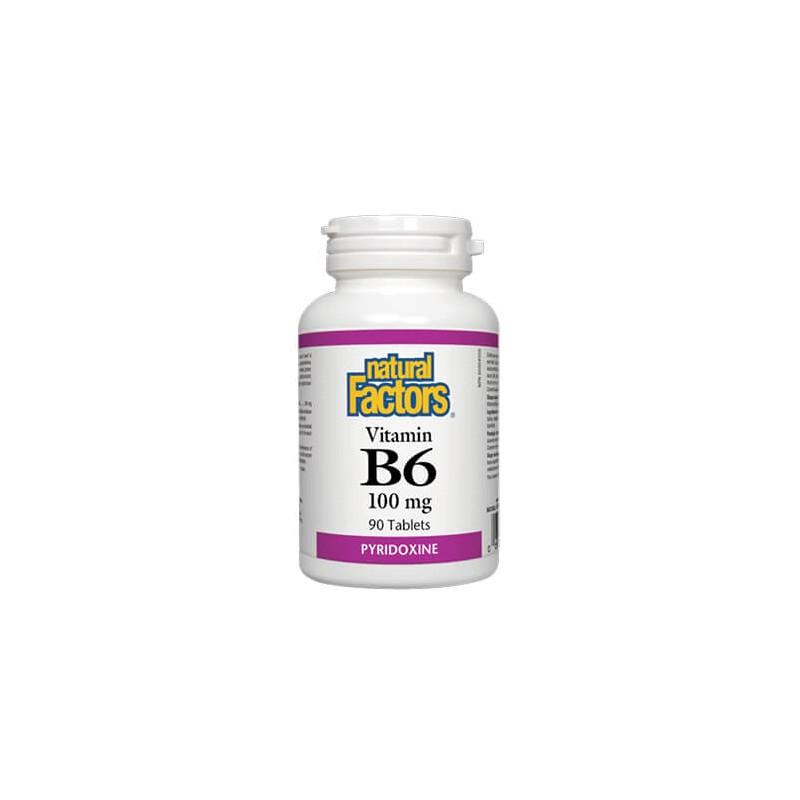 Витамин В6 100 mg Natural Factors - 1