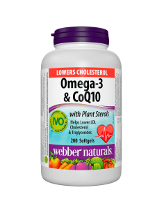 Lower Cholesterol (Омега-3, фитостероли и коензим Q10) Webber - 1