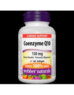Коензим Q10 150 mg x 60 софтгел капсули Webber - 1