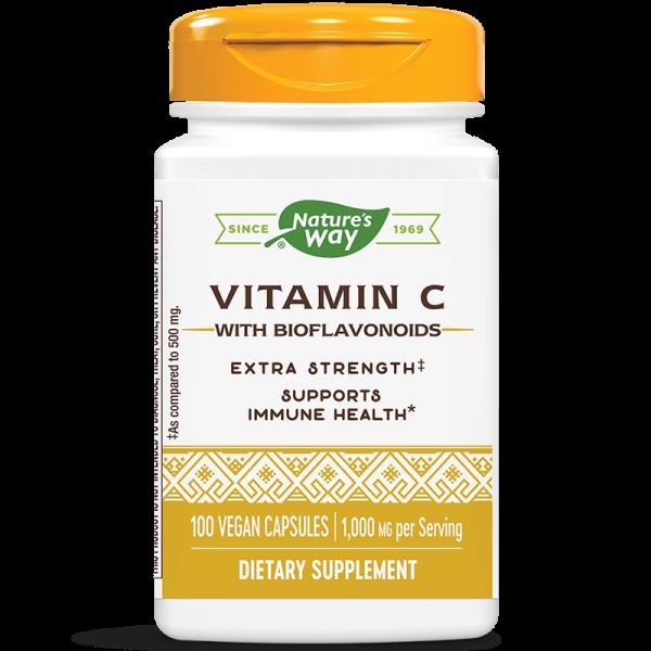 Витамин С & биофлавоноиди Nature's Way - 1