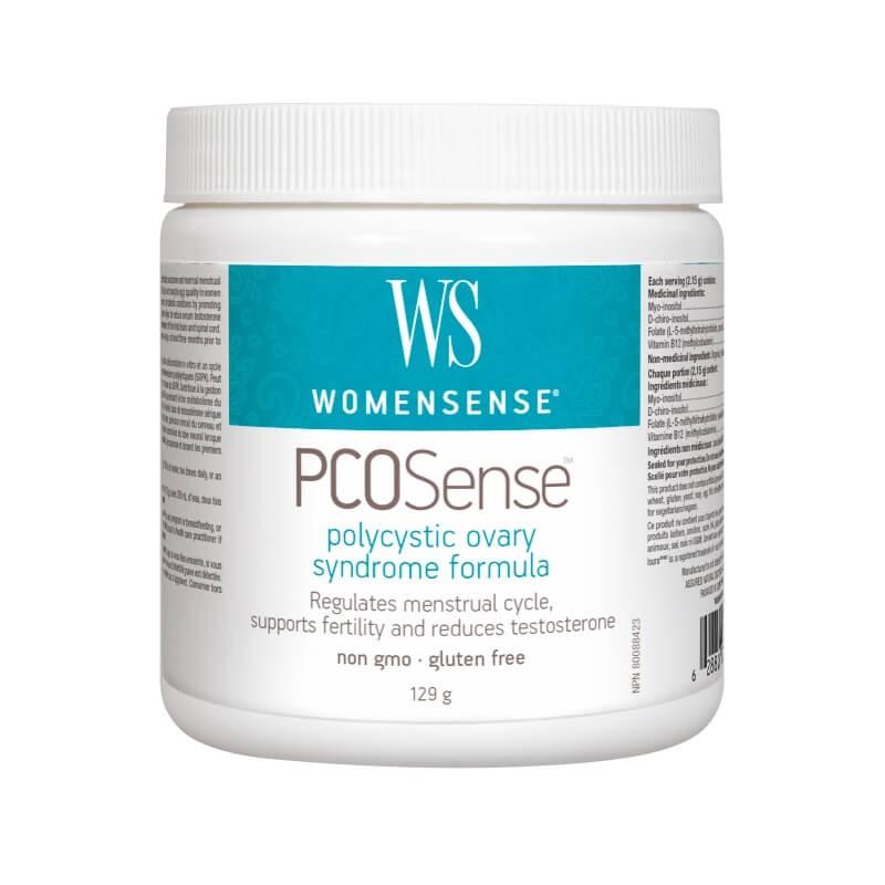 PCOSense™/При поликистозен овариален синдром/, 129 g пудра Natural Factors - 1