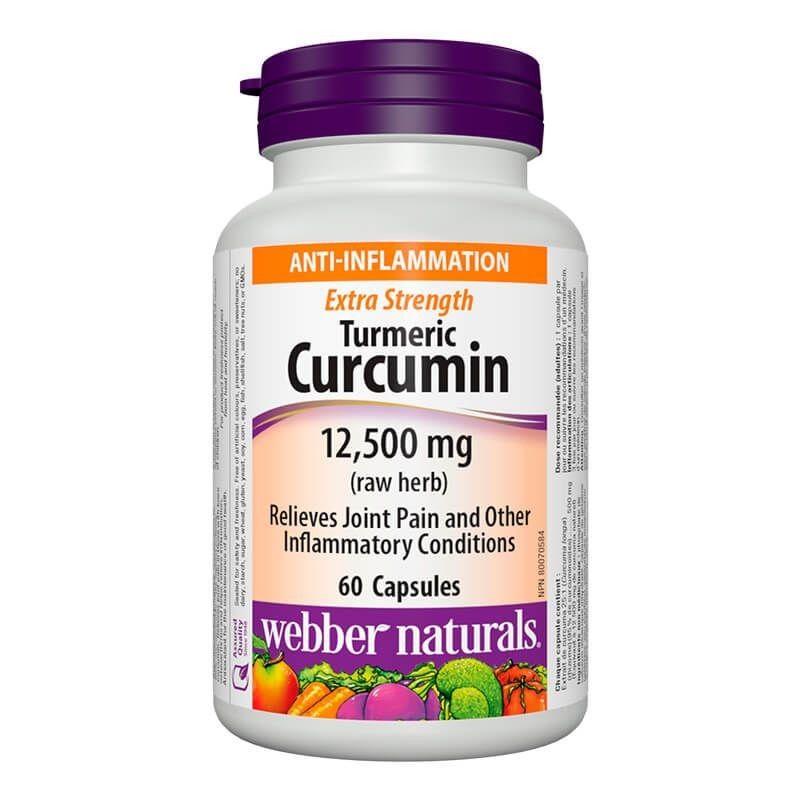 Турмерик куркумин (Супер концентрат) 500 mg Webber - 1