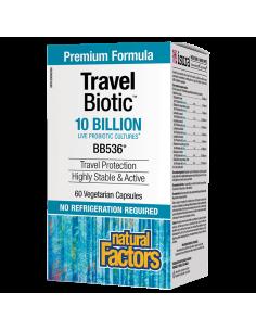 TRAVEL BIOTIC /10 млрд. активни пробиотици/ x 60 капсули Natural Factors - 1
