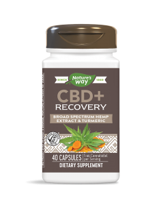 CBD + RECOVERY x 40 капсули Nature's Way - 1