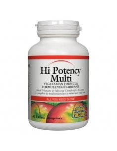 Hi potency multi /Мултивитамини и минерали/ x 90 таблетки Natural Factors - 1