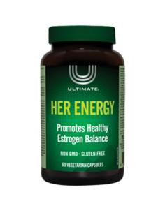 Her Energy™ Ultimate™ (Естроген формула за жени) 488 mg Natural Factors - 1