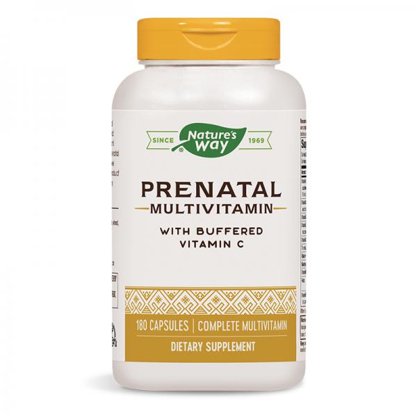 Пренатал Мултивитамини /С буфериран витамин С/ Nature's Way - 1
