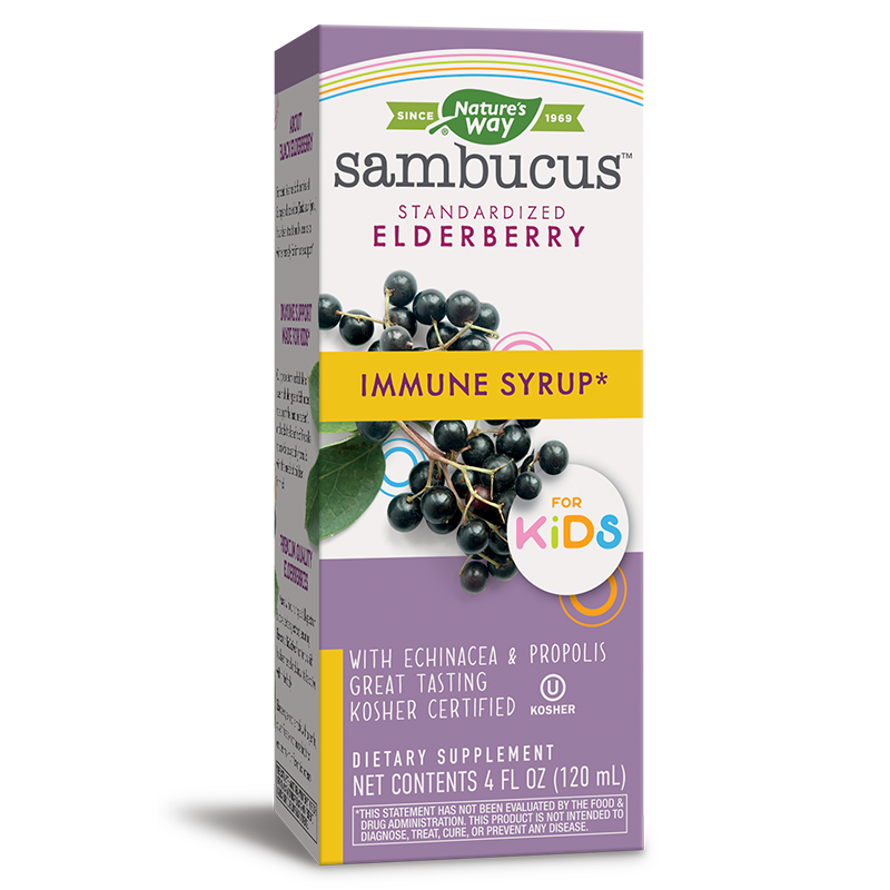 Sambucus Imunne Syrup for Kids/ Самбукус Immune сироп за деца х 120 ml