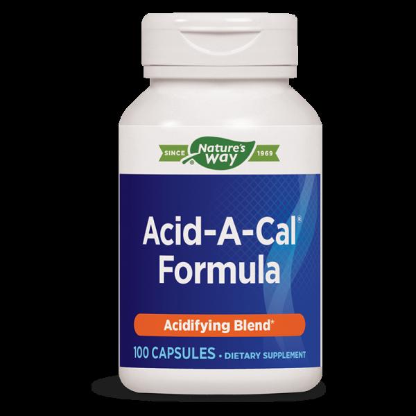 Aцид-А-Кал™ Формула 387 mg Nature's Way - 1