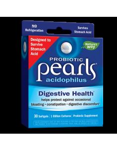 Пробиотик Pearls/ Пърлс AC 1 милиард активни пробиотици x 30 софтгел капс. Nature's Way - 1