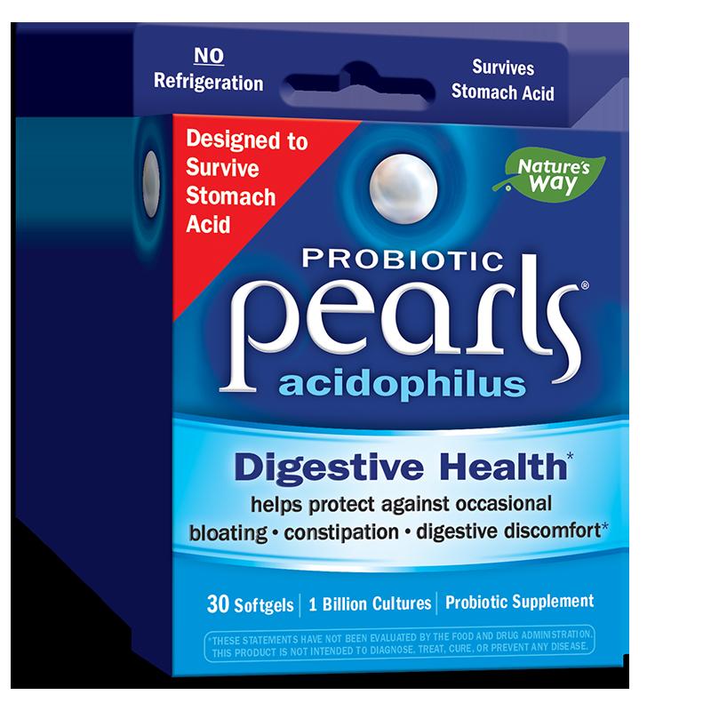 Pearls® Probiotic / Пърлс® Пробиотик, 1 млрд. активни пробиотици x 30 софтгел капсули