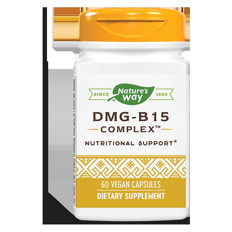 DMG-B15 Complex™/ ДМГ- Витамин В15 Комплекс™ х 60 капсули