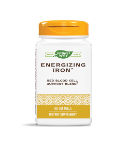 Energizing Iron 104 mg Nature's Way - 1