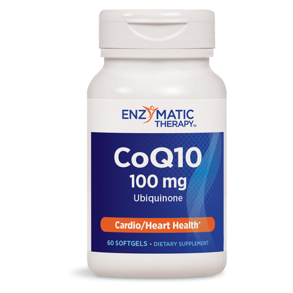 Коензим Q10 ЕТ 100 mg x 60 SG капс. Nature's Way - 1