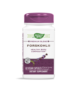 Форсколий 250 mg х 60 капсули Nature's Way - 1