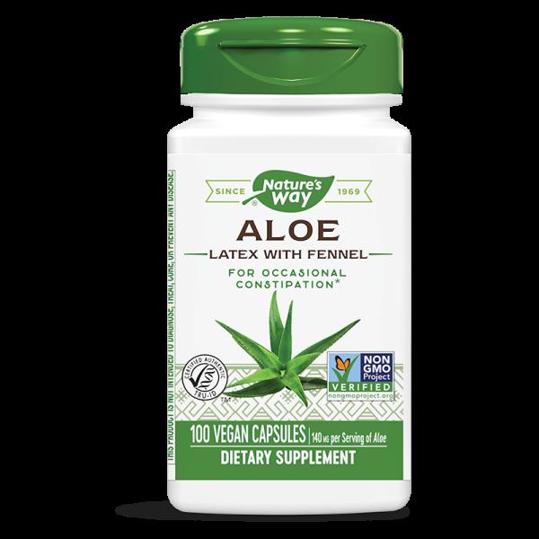 Алое (латекс с копър) 275 mg Nature's Way - 1