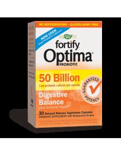 Fortify™ Optima® Digestive Balance /50 млрд. активни пробиотици/ Nature's Way - 1