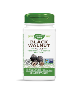 Черен орех (шушулка) 500 mg Nature's Way - 1