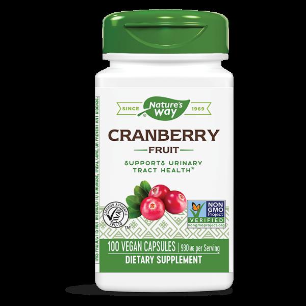 Червена боровинка (плод) 465 mg Nature's Way - 1