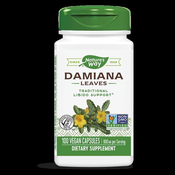 Дамиана (лист) 400 mg Nature's Way - 1