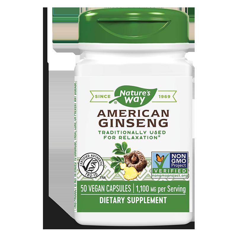American Ginseng/ Женшен американски 550 mg х 50 капсули