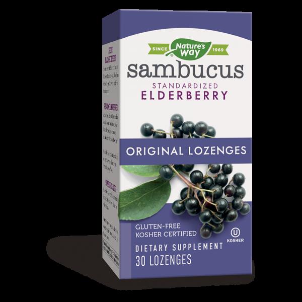 Самбукус 200 mg Nature's Way - 1