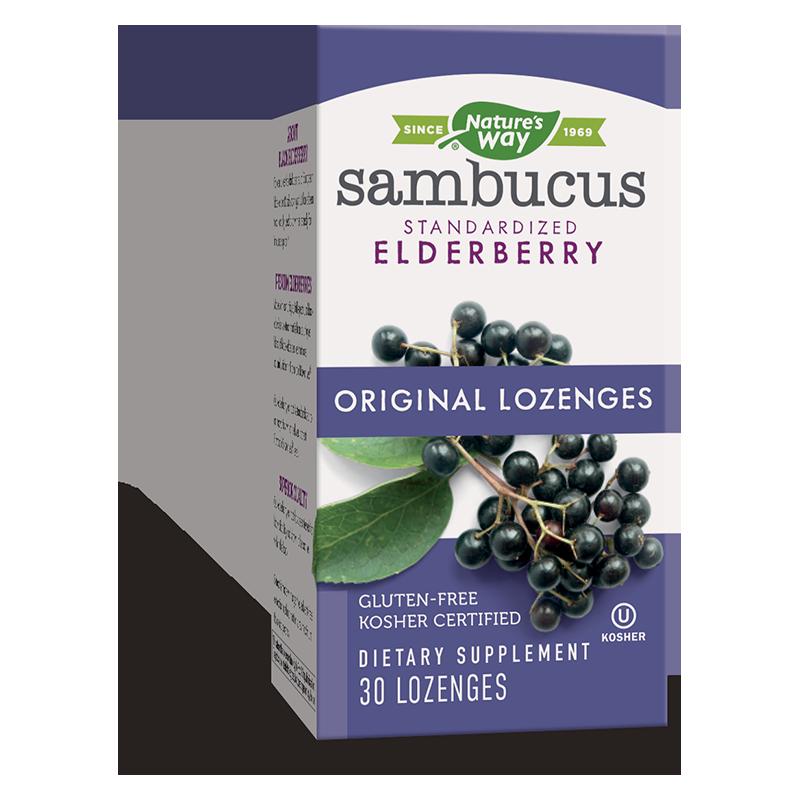Sambucus Original Lozenges/ Самбукус x 30 таблетки за смучене