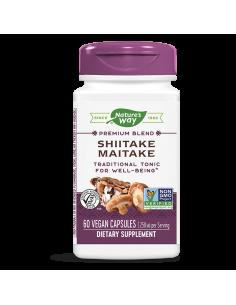 Шийтаке и майтаке 250 mg Nature's Way - 1