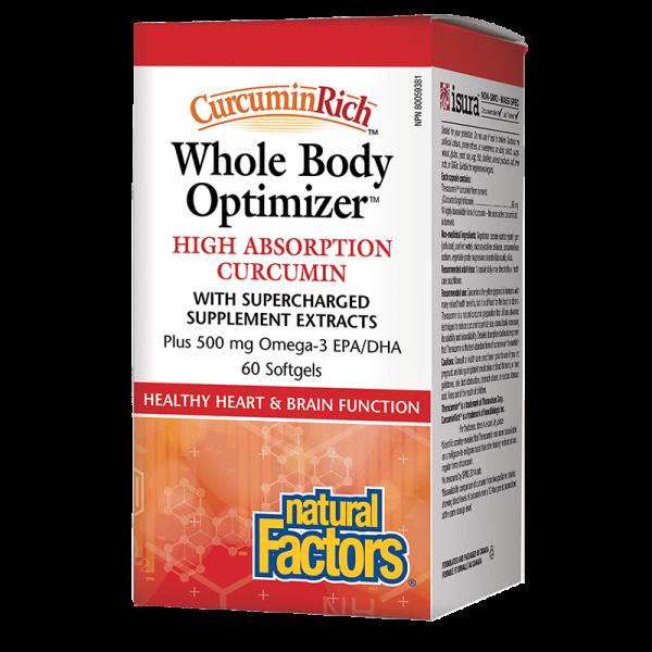 Whole Body Optimizer x 60 софтгел капсули Natural Factors - 1