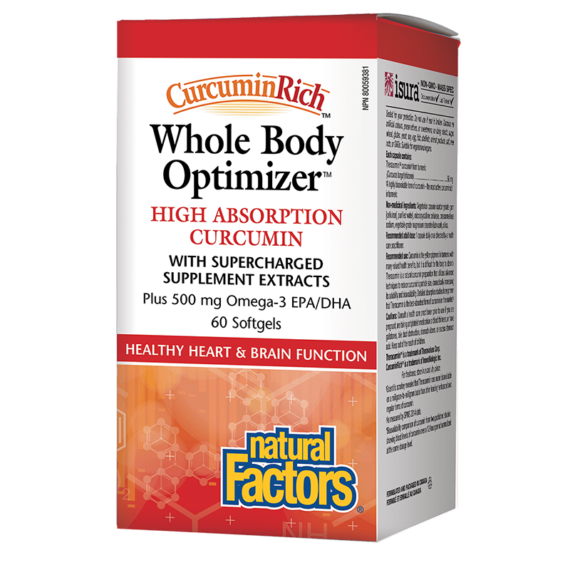 CurcuminRich™ Whole Body Optimizer™ x 60 софтгел капсули