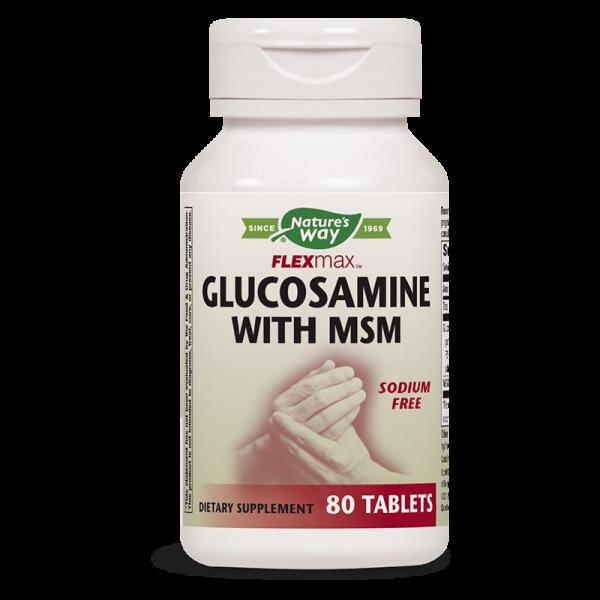 Глюкозамин Сулфат & МСМ 875 mg х 80 табл.  - 1