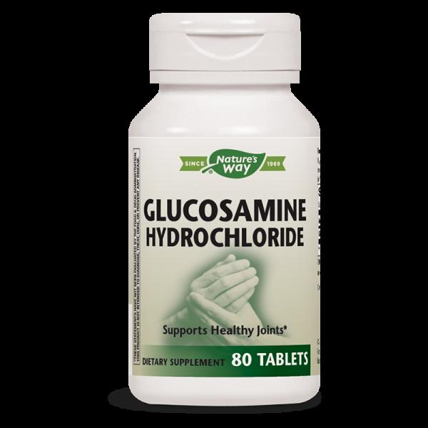 Глюкозамин Хидрохлорид 375 mg х 80 табл. Nature's Way - 1