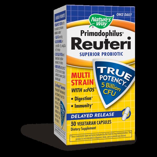Примадофилус Реутери 148 mg Nature's Way - 1