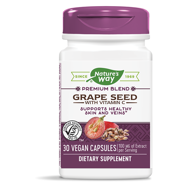 Grape Seed with Vitamin C/ Гроздово семе с Витамин С х 30 капсули