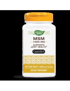 МСМ / Метилсулфонилметан 1000 mg x 200 таблетки Nature's Way - 1