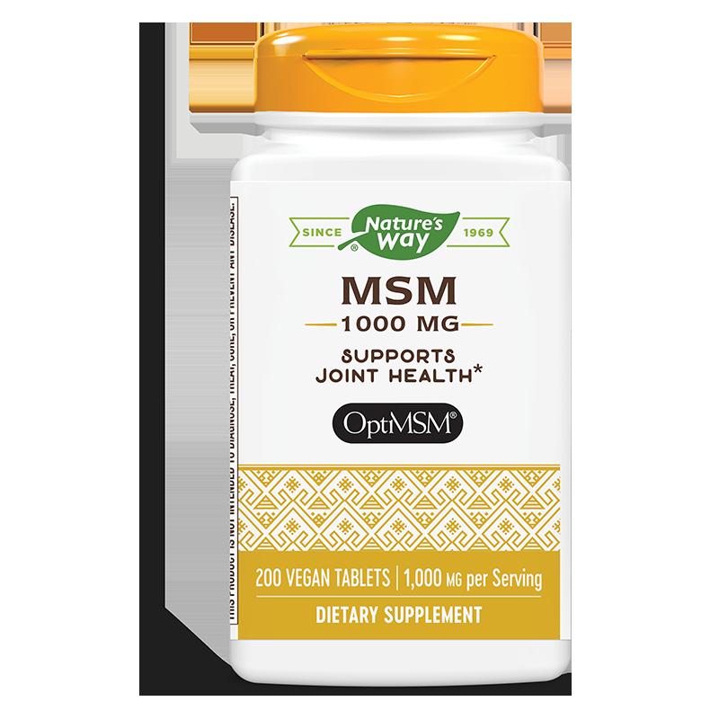 МСМ / Метилсулфонилметан 1000 mg x 200 таблетки