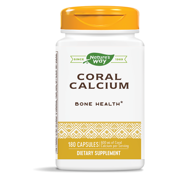 Корал калций 882 mg х 180 капс. Nature's Way - 1