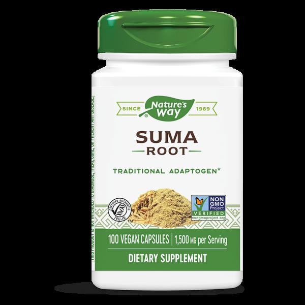 Женшен бразилски / Сума (корен) 500 mg Nature's Way - 1