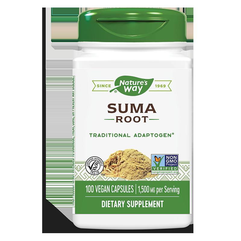 Suma Root/ Женшен бразилски (корен) 500 mg х 100 капсули
