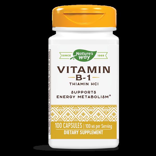 Витамин В1 100 mg Nature's Way - 1