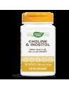 Холин-Инозитол (витамин В4-В8) 250/250 mg х 100 капс. Nature's Way - 1