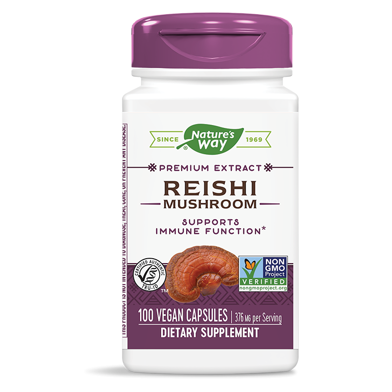 Reishi Mushroom/ Рейши 188 mg х 100 капсули