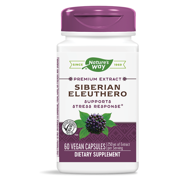 Женшен сибирски 485 mg Nature's Way - 1
