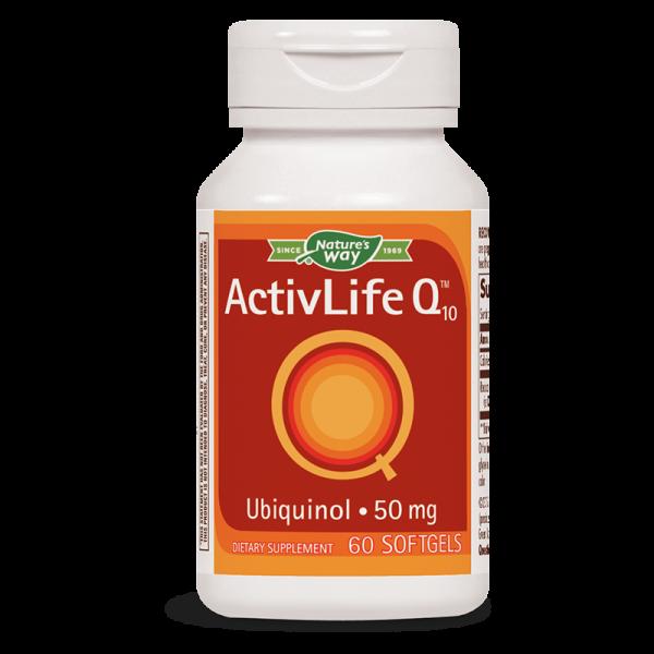 Activ Life Коензим Q10 50 mg Nature's Way - 1