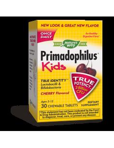 Примадофилус Кидс Череша 3 млрд. активни пробиотици Nature's Way - 1